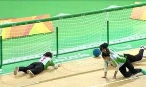 Seleções masculina e feminina de Goalball fazem rodada dupla
