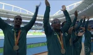 Atletismo paralímpico rende mais medalhas para o Brasil