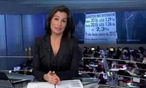Em agosto, brasileiros gastaram no exterior 2% a mais que no mesmo mês de 2015