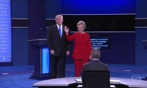 Hillary e Trump ficam frente a frente no 1º debate presidencial dos EUA