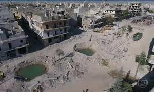 OMS e Cruz Vermelha pedem que se faça corredor humanitário para retirar feridos na Síria