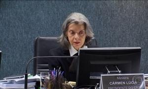 Ministra Cármen Lúcia comanda sessão do Conselho Nacional de Justiça