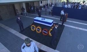 Shimon Peres é velado no Parlamento Israelense