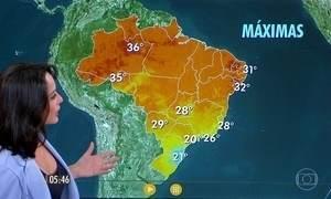 Confira como fica o tempo nesta sexta-feira (7)