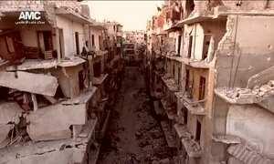 Jatos russos retomam bombardeios em Aleppo