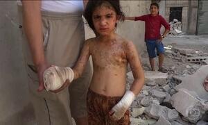 Bombardeios em Aleppo causaram mais de 150 esta semana