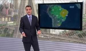 Veja a previsão do tempo para este fim de semana em todo o Brasil