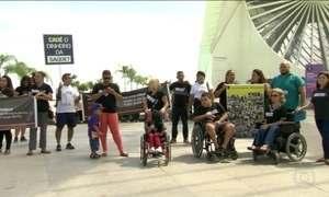Pacientes com doenças raras participaram de manifestações em diversas cidades brasileiras