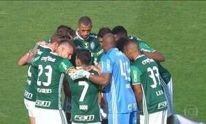 Palmeiras é o único dos líderes a vencer na rodada do Brasileirão