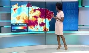 Clima vai continuar seco no Nordeste