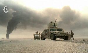 Tropas iraquianas avançam além do esperado para retomar Mossul do EI
