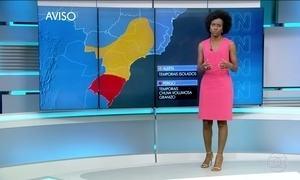 Região Sul corre risco de tempestades severas nesta quarta-feira (19)