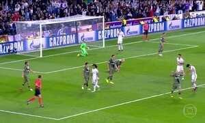 Real Madrid goleia na Liga dos Campeões