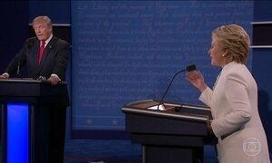 Hillary e Trump se provocam e apresentam propostas no último debate