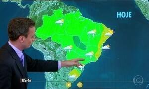 Confira como fica o tempo nesta quinta-feira (20)