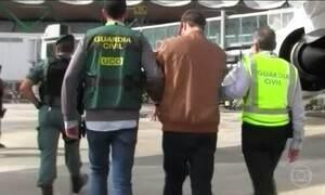 Polícia espanhola prende brasileiro acusado de matar familiares