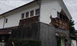 Terremoto de magnitude 6,6 na escala Richter assusta moradores