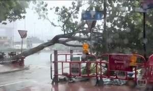 Passagem do tufão Haima causa a morte de 12 pessoas nas Filipinas