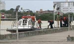 Marinha e Aeronáutica continuam procurando desaparecidos em naufrágio
