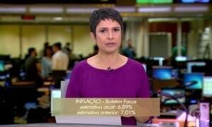 Mercado financeiro prevê inflação menor neste ano e em 2017, diz Banco Central