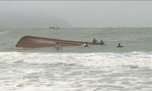 Dois pescadores estão desaparecidos no litoral de Santa Catarina