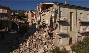 Forte tremor atinge região central da Itália
