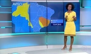 Veja a previsão do tempo para terça-feira (8) no Brasil