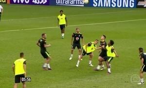 Seleção Brasileira faz o 1º treino em Belo Horizonte