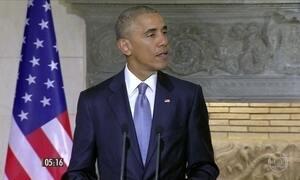 Presidente Barack Obama inicia última viagem oficial
