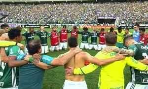 Palmeiras precisa apenas de um empate para ser campeão do brasileirão em 2016