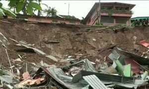 Terremoto e furacão na América Central deixam região sob alerta de tsunami