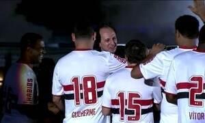 Rogério Ceni é anunciado como novo técnico do São Paulo
