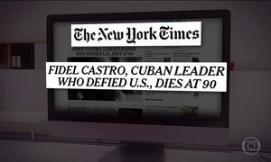 Morte de Fidel Castro repercute nos EUA e na Europa