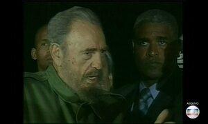 Última viagem de Fidel Castro como presidente foi para a Argentina