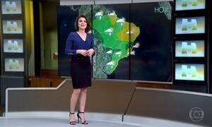 Previsão é de tempo firme em quase todo litoral brasileiro
