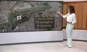 Mortos no acidente com avião da Chapecoense são 76