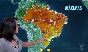 Confira como fica o tempo nesta quarta-feira (30)