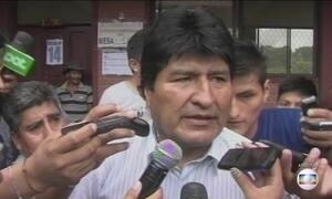 Evo Morales ordena uma investigação profunda sobre acidente aéreo