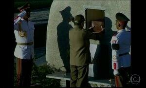Cinzas do Fidel Castro são enterradas em Santiago de Cuba