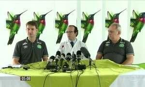 Seguem internados os brasileiros sobreviventes ao acidente com Chapecoense