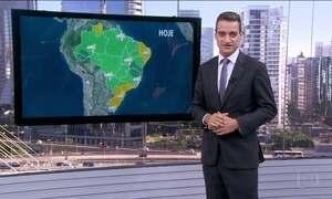Confira a previsão do tempo para esta terça (6) em todo o Brasil