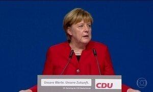 Angela Merkel ganha apoio para disputar 4º mandato na Alemanha