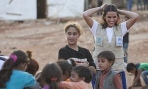 Bruna Marquezine conta como foi visita a campo de refugiados