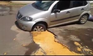 Justiça suspende restauração de asfalto em MS e acidentes aumentam