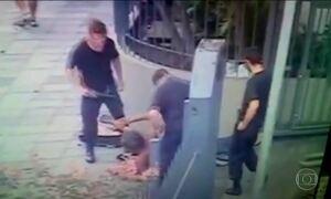 Seguranças que agrediram morador de rua no RS são identificados