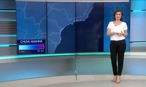 Previsão de chuva forte para o Sul e Sudeste nesta terça (10)