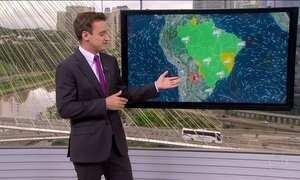 Veja a previsão do tempo para esta terça-feira (10) em todo o Brasil