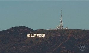 Suspeito de alterar letreiro de Hollywood é preso