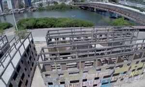 Obras municipais de apartamentos populares se arrastam há dez anos no Recife