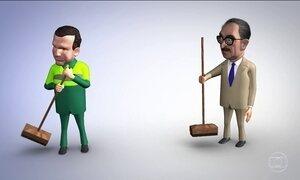 Prefeito eleito de SP, João Dória, é tema da charge de Chico Caruso